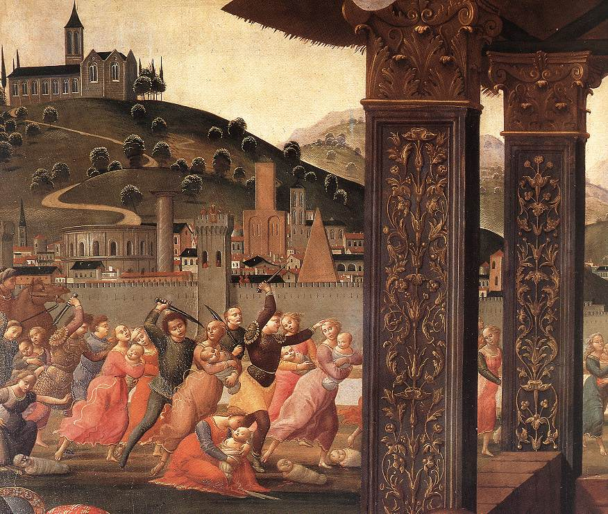 Adoration Of The Magi (Detail) 4 1488 | Domenico Ghirlandaio | Oil Painting