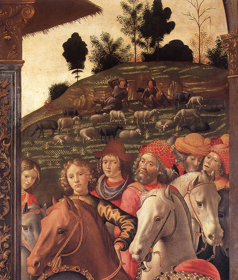 Adoration Of The Magi (Detail) 5 1488 | Domenico Ghirlandaio | Oil Painting