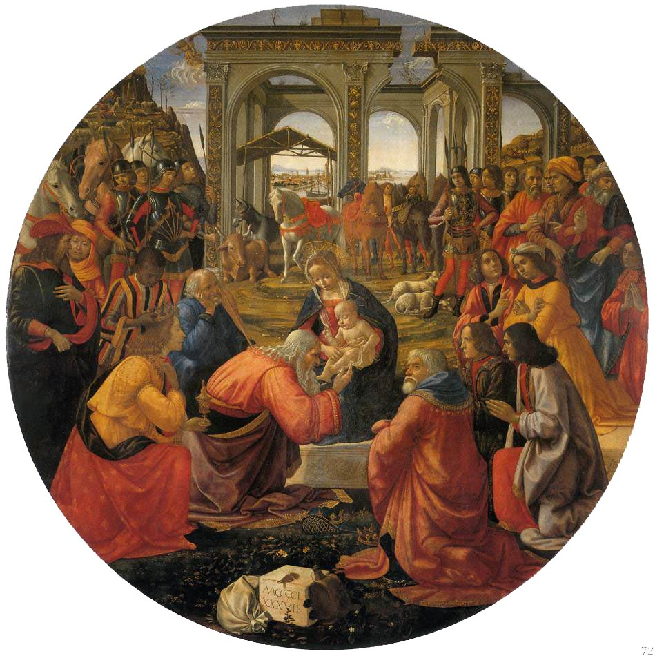 Adoration Of The Magi 1487 | Domenico Ghirlandaio | Oil Painting