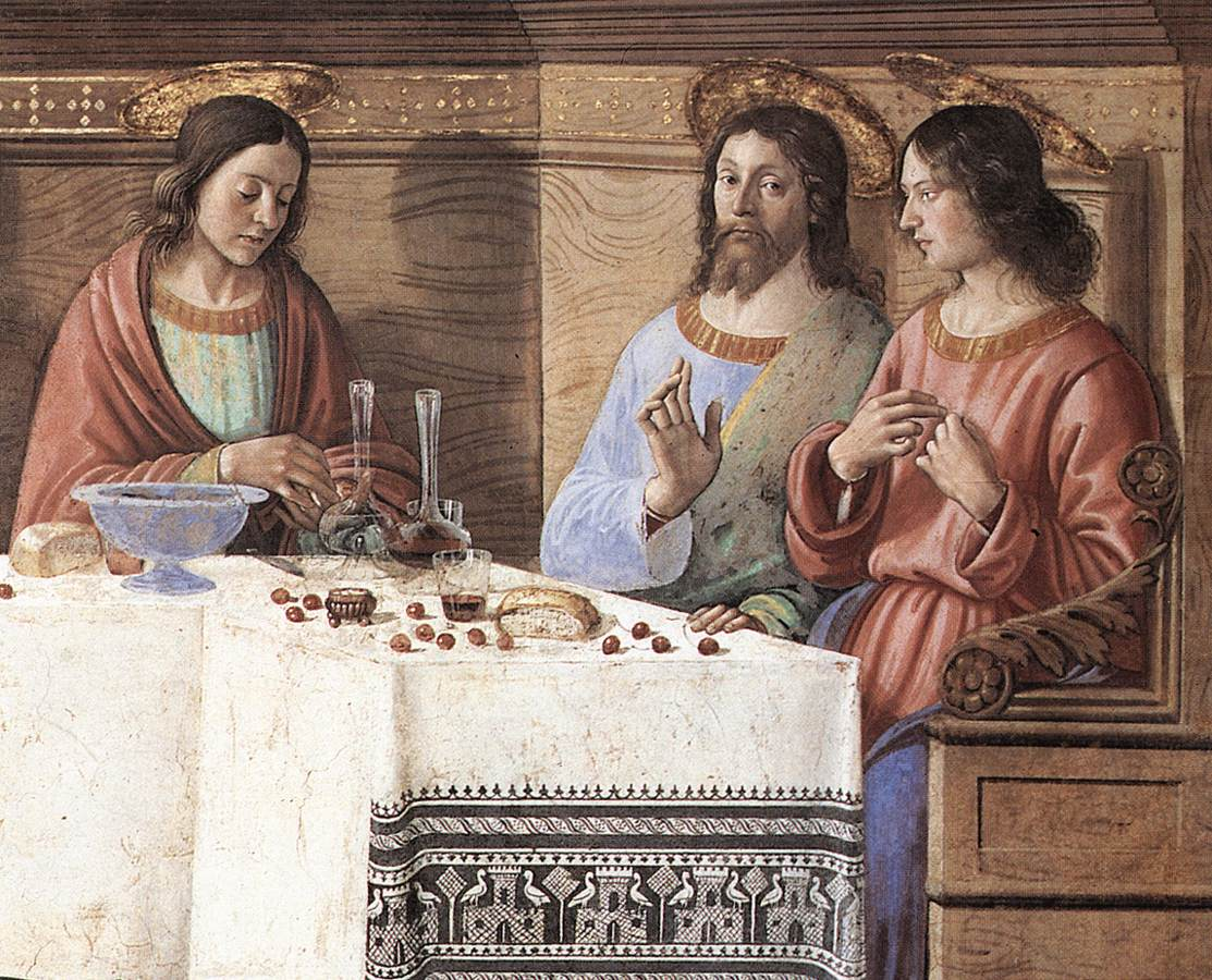 Last Supper (Detail) 2 1486 | Domenico Ghirlandaio | Oil Painting