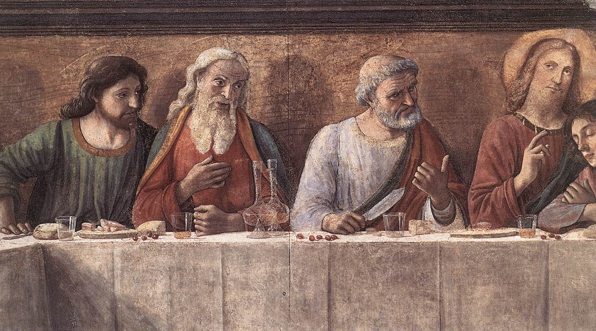 Last Supper (Detail) 3 1480 | Domenico Ghirlandaio | Oil Painting