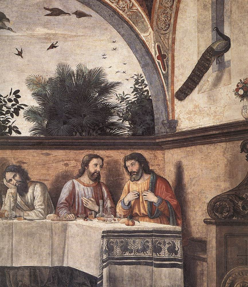 Last Supper (Detail) 4 1480 | Domenico Ghirlandaio | Oil Painting