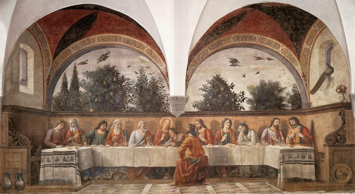 Lastsupper 1480 | Domenico Ghirlandaio | Oil Painting