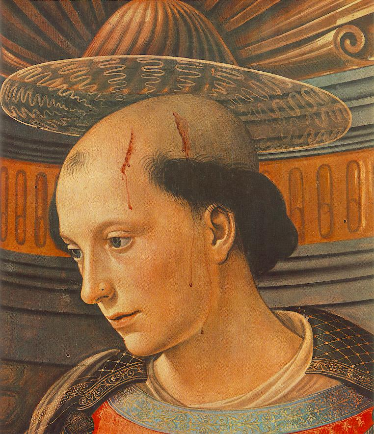 St Stephen (Detail) 1490-94 | Domenico Ghirlandaio | Oil Painting