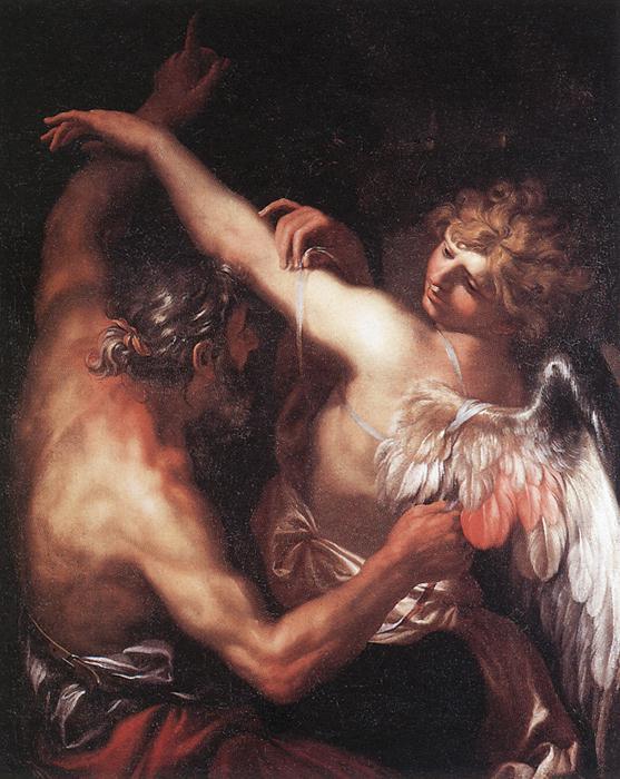 Daedalus And Icarus 1670s | Domenico Piola | Oil Painting