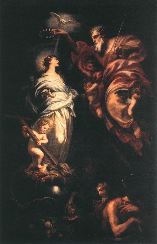 Immaculate Conception 1683 | Domenico Piola | Oil Painting