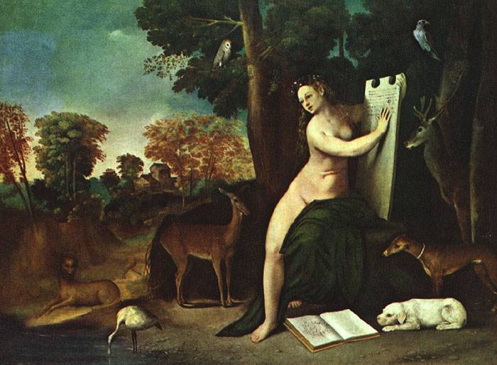 Circe And Her Lovers In A Landscape 1514-16 | Dosso Dossi | Oil Painting