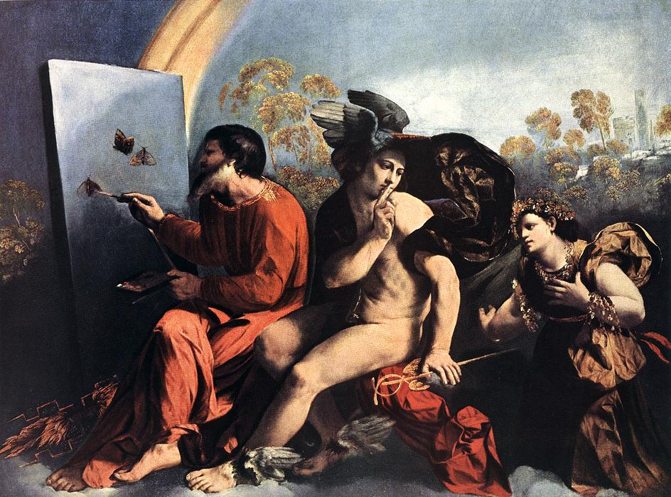 Jupiter Mercury And The Virtue 1115-18 | Dosso Dossi | Oil Painting