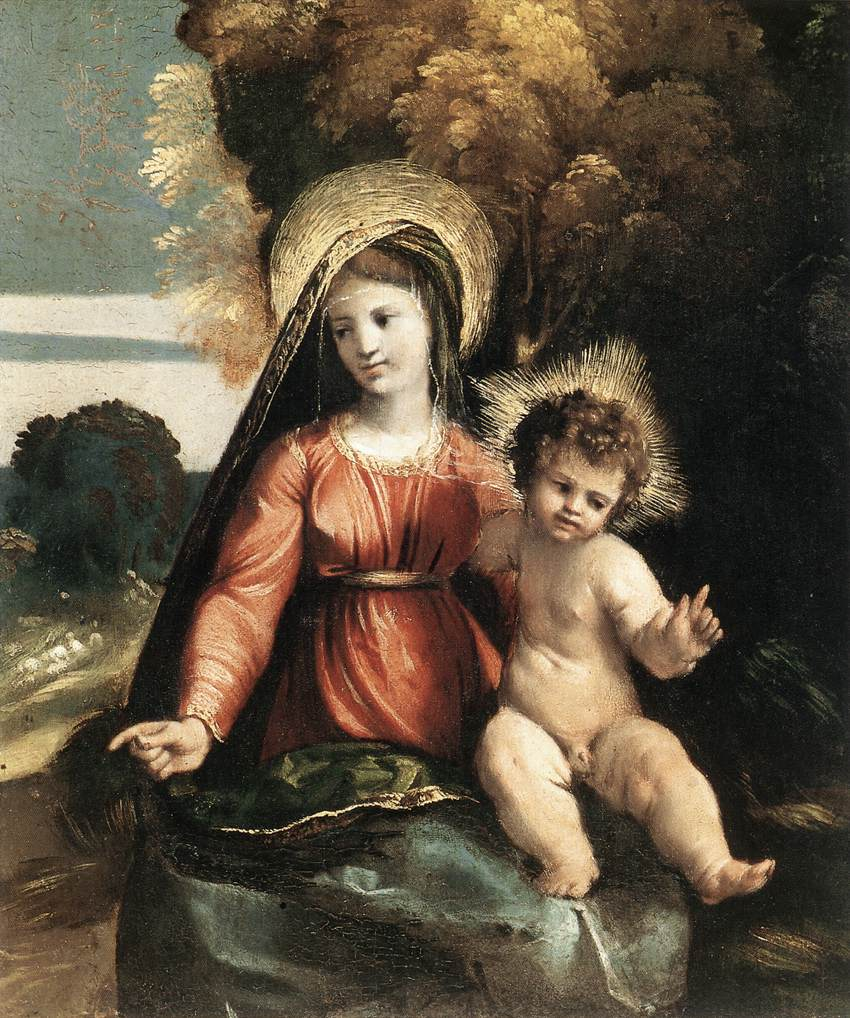 Madonna And Child 1525 | Dosso Dossi | Oil Painting