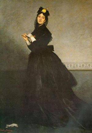 Lady with a Glove | Duran Charles Emile Carolus | Oil Painting