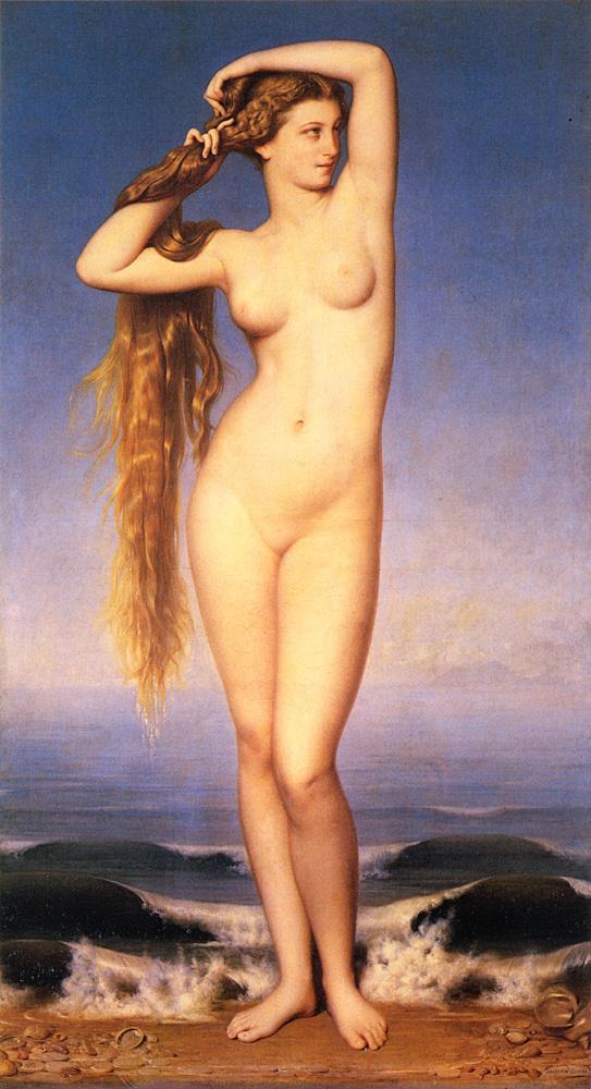 La Naissance De Venus | Duval Eugene Emmanuel Amaury | Oil Painting