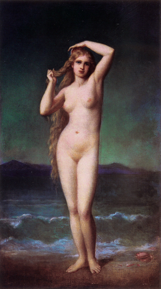 The Bather | Duval Eugene Emmanuel Amaury | Oil Painting
