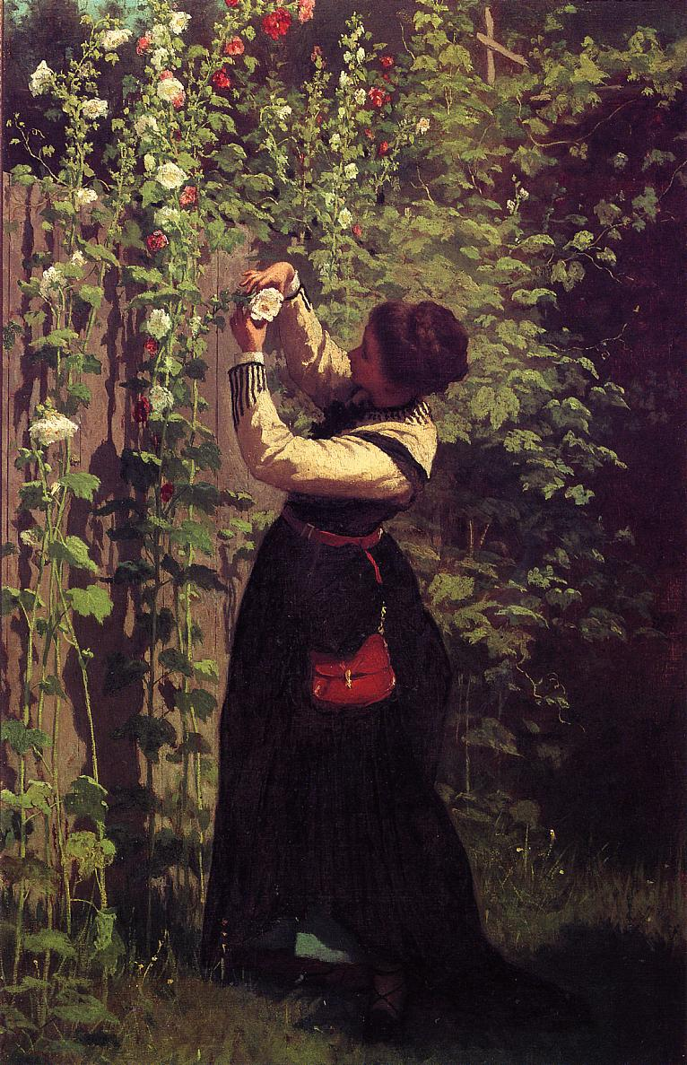 Catching the Bee  1872 | Eastman Johnson | Oil Painting