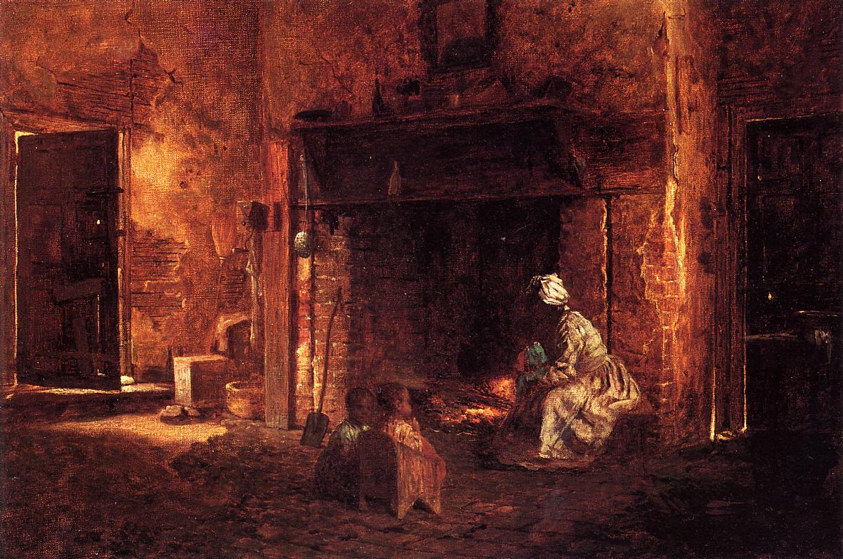 Kitchen at Mount Vernon  1857 | Eastman Johnson | Oil Painting