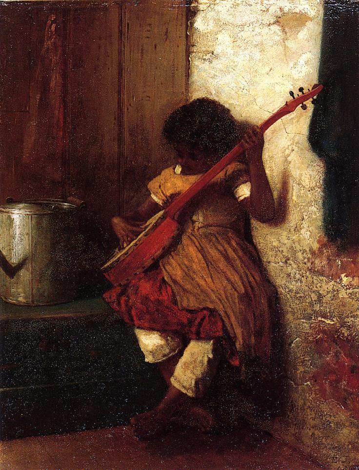 Musical Instinct  1860-1869 | Eastman Johnson | Oil Painting
