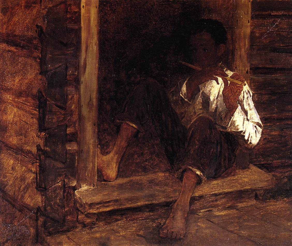 Negro Boy  1860 | Eastman Johnson | Oil Painting