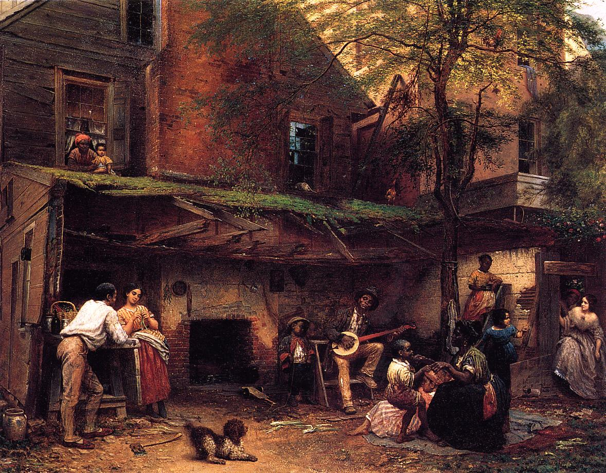 Negro Life in the South  1859 | Eastman Johnson | Oil Painting
