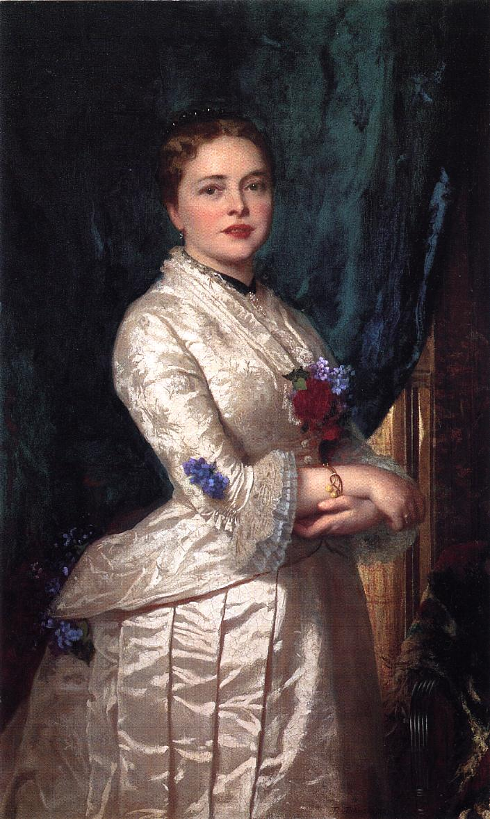 Portrait of a Woman  1881 | Eastman Johnson | Oil Painting