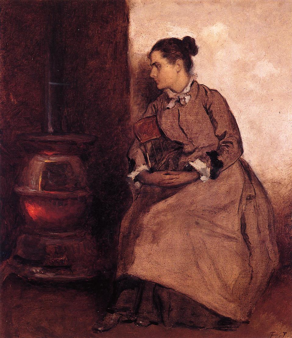 Ruth  1880-1885 | Eastman Johnson | Oil Painting