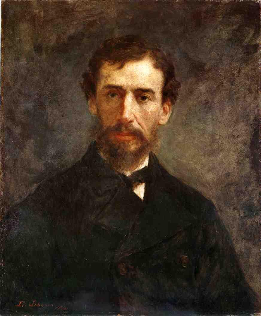 Sanford Robinson Gifford  1880 | Eastman Johnson | Oil Painting