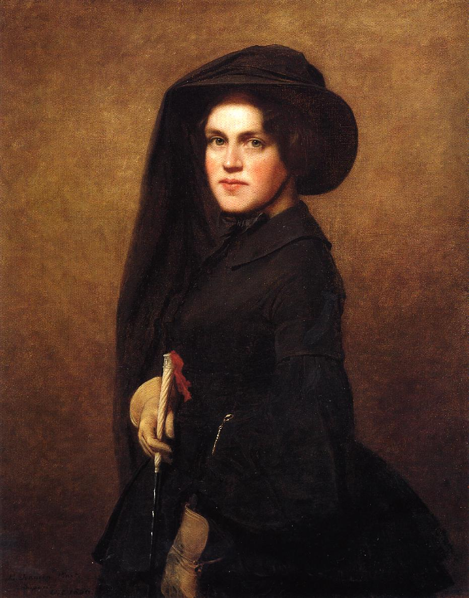 Sarah Osgood Johnson Newton  1856 | Eastman Johnson | Oil Painting