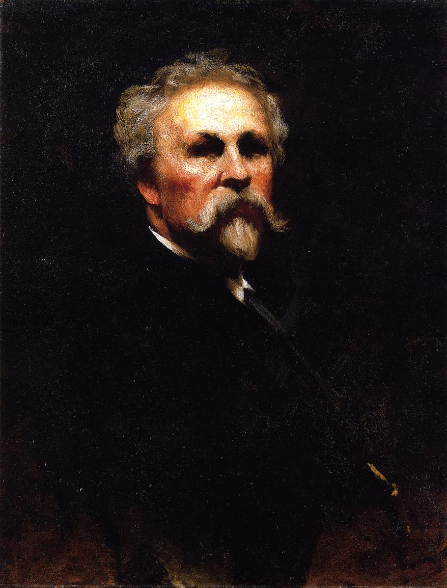 Self Portrait | Eastman Johnson | Oil Painting