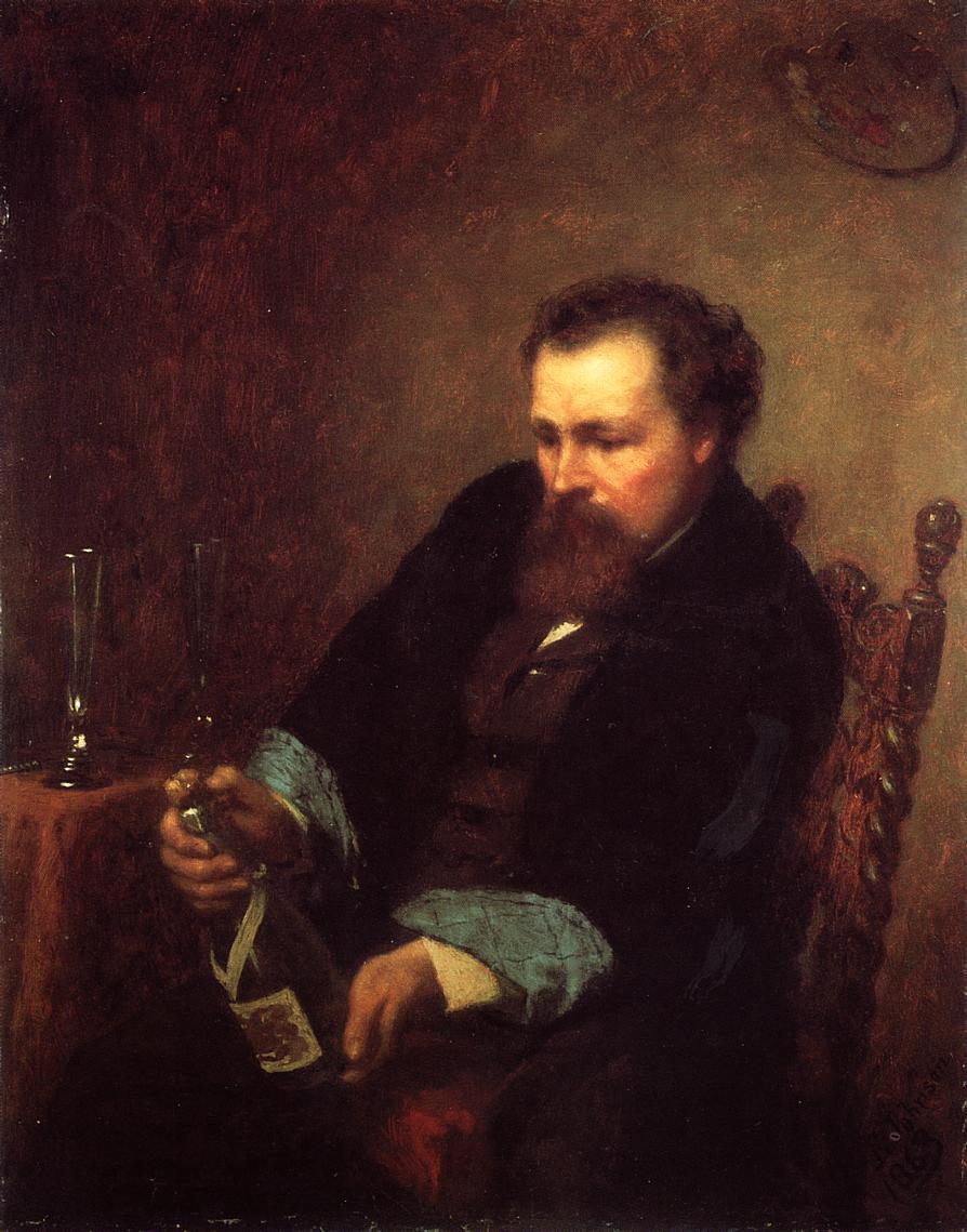 Self Portrait  1863 | Eastman Johnson | Oil Painting