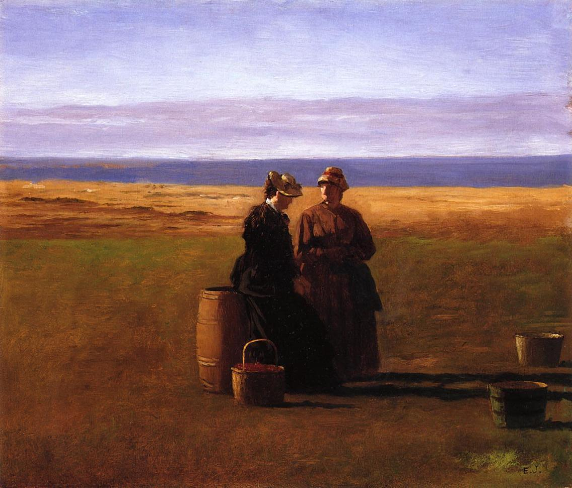 The Conversation  1879 | Eastman Johnson | Oil Painting