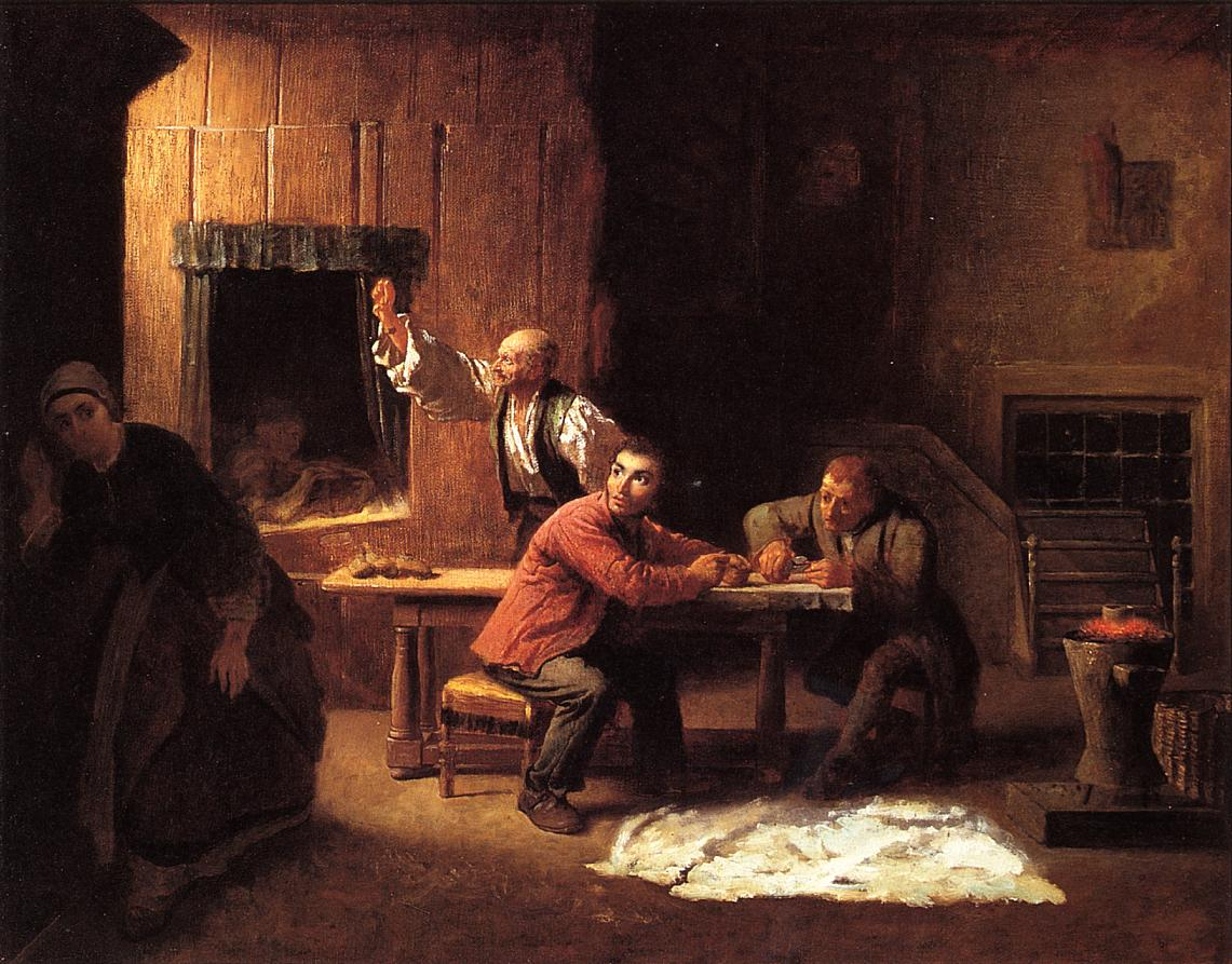 The Counterfeiters  1853 | Eastman Johnson | Oil Painting