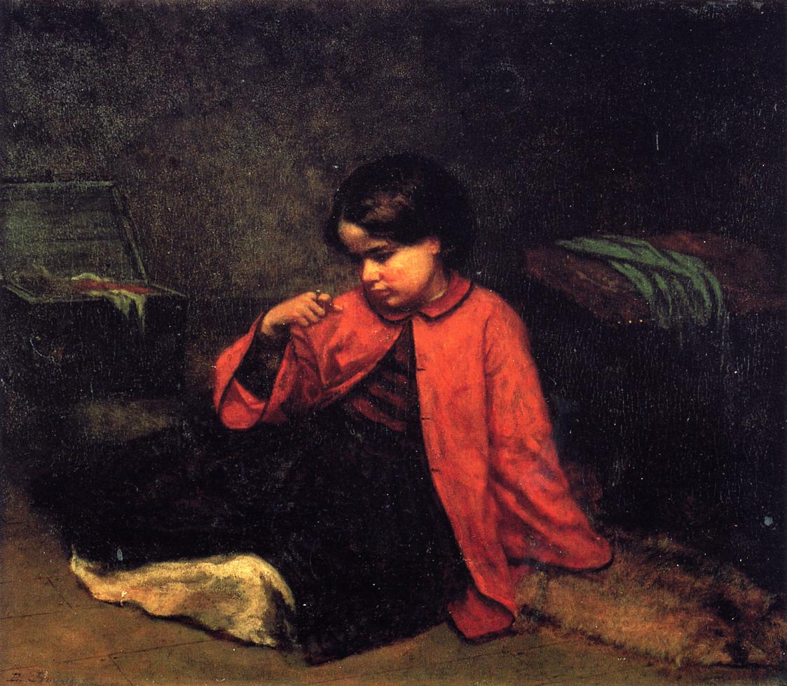 The Freedom Ring  1860 | Eastman Johnson | Oil Painting