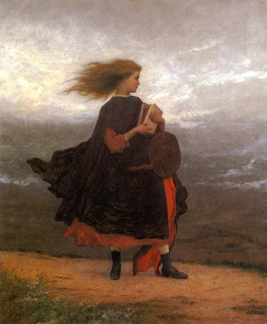 The Girl I Left Behind Me | Eastman Johnson | Oil Painting