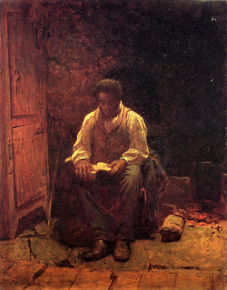 The Lord is My Shepherd  1863 | Eastman Johnson | Oil Painting