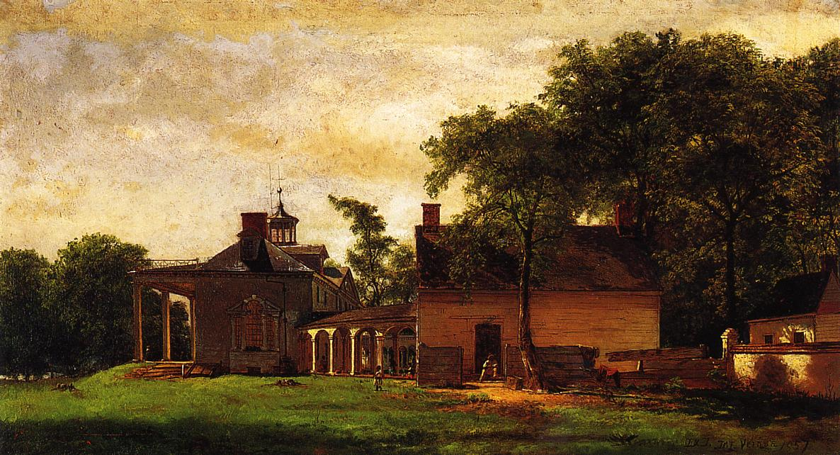 The Old Mount Vernon  1857 | Eastman Johnson | Oil Painting