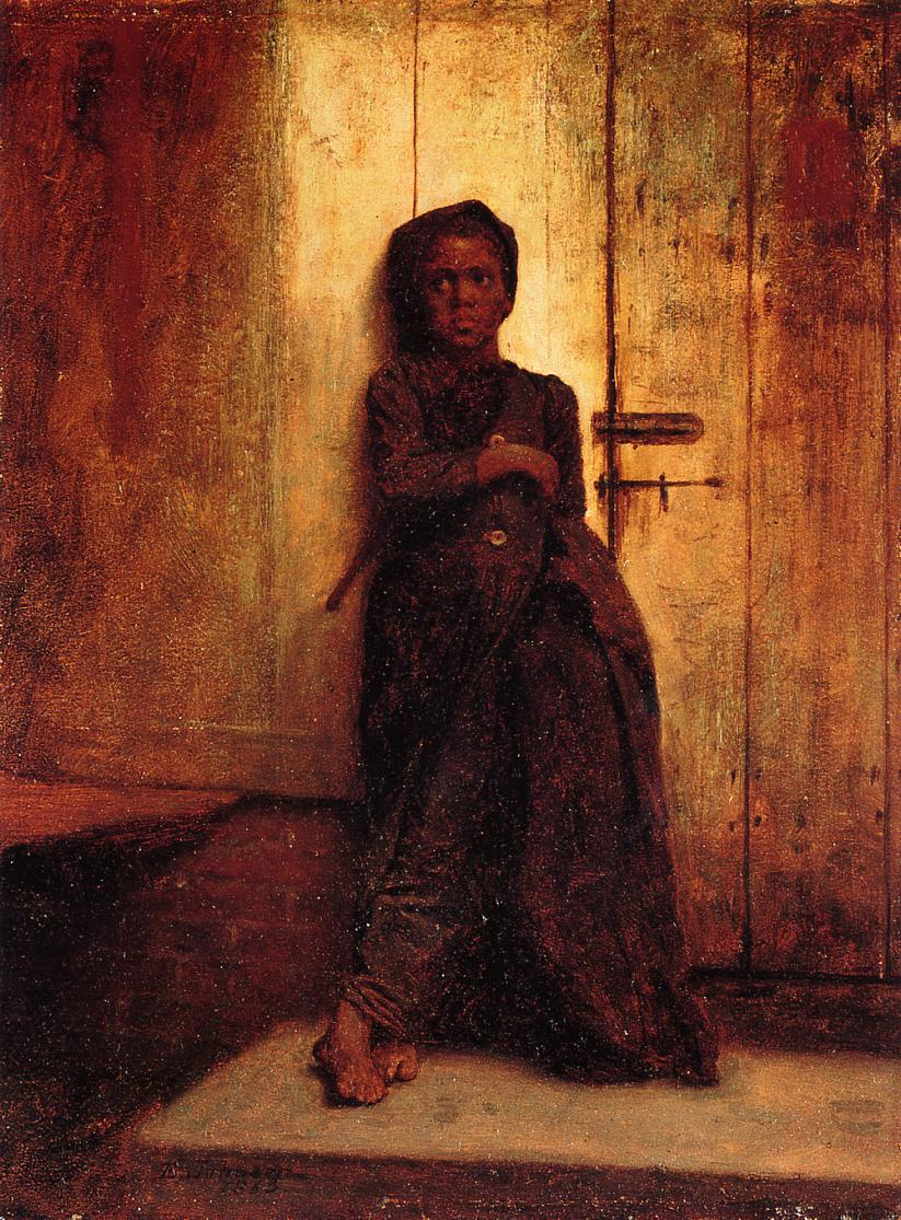 The Young Sweep  1863 | Eastman Johnson | Oil Painting