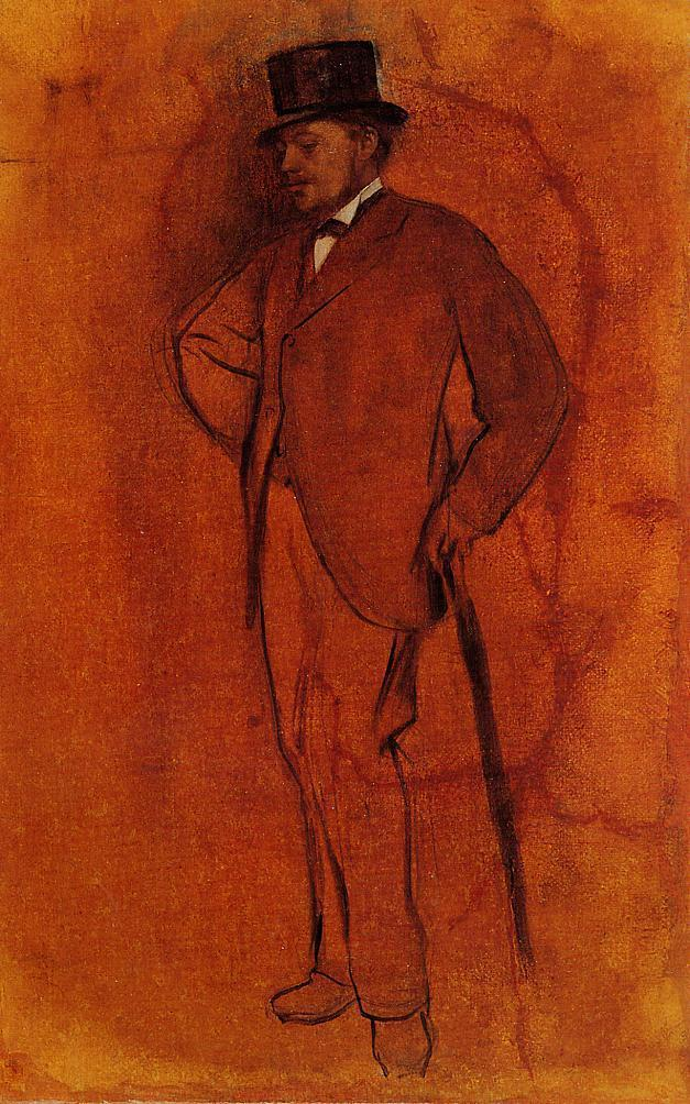 Achille De Gas 1868-1872 | Edgar Degas | Oil Painting