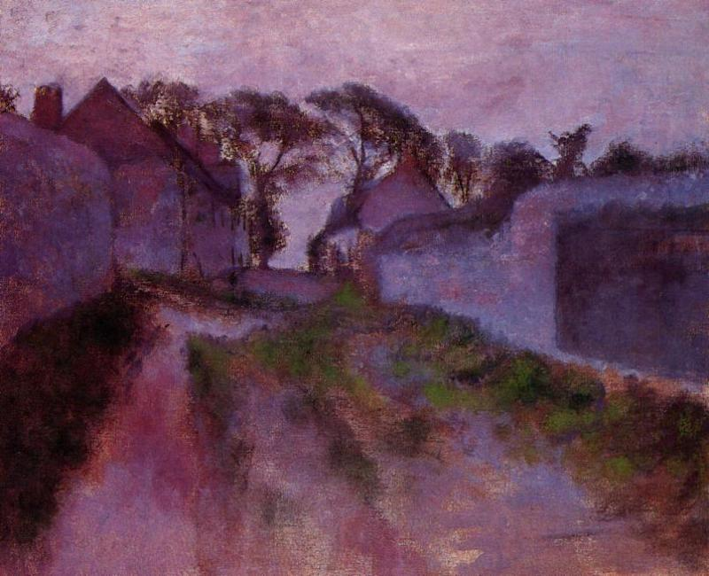 At Saint-Valery-sur-Somme 1896-1898 | Edgar Degas | Oil Painting