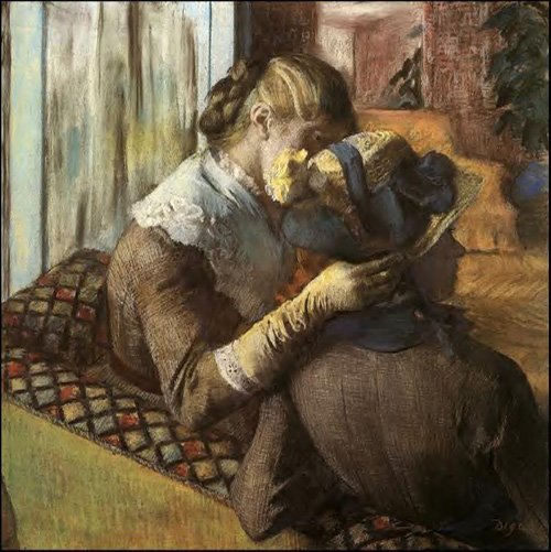 At the Milliners 1883 | Edgar Degas | Oil Painting