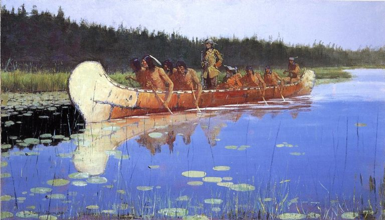 The Great Explorers | Frederick Remington