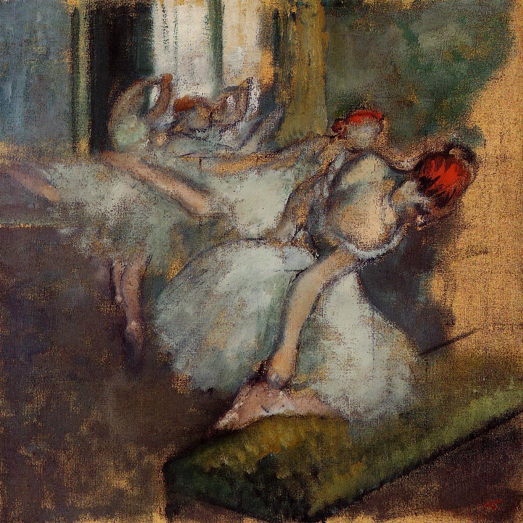 Ballet Dancers 1895-1900 | Edgar Degas | Oil Painting