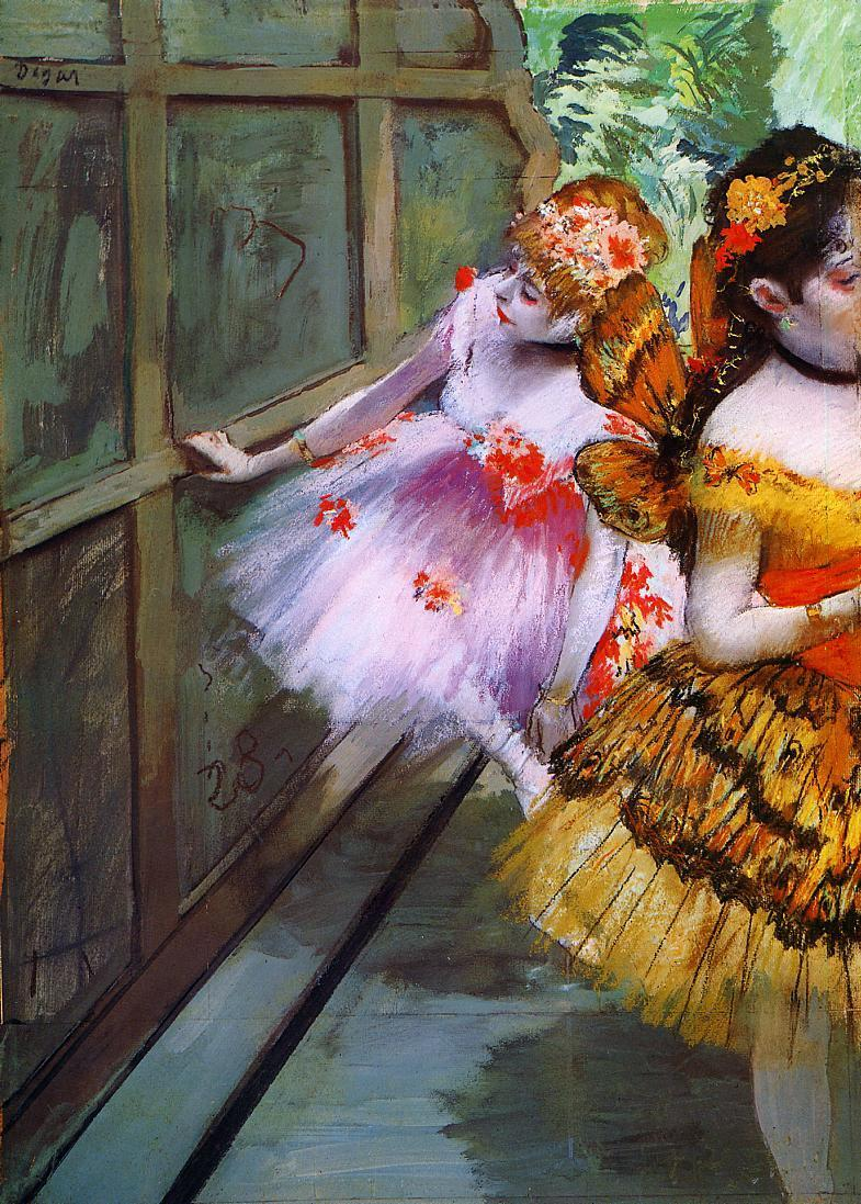 Ballet Dancers in Butterfly Costumes 1880 | Edgar Degas | Oil Painting