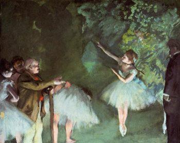 Ballet Rehearsal 1875 | Edgar Degas | Oil Painting