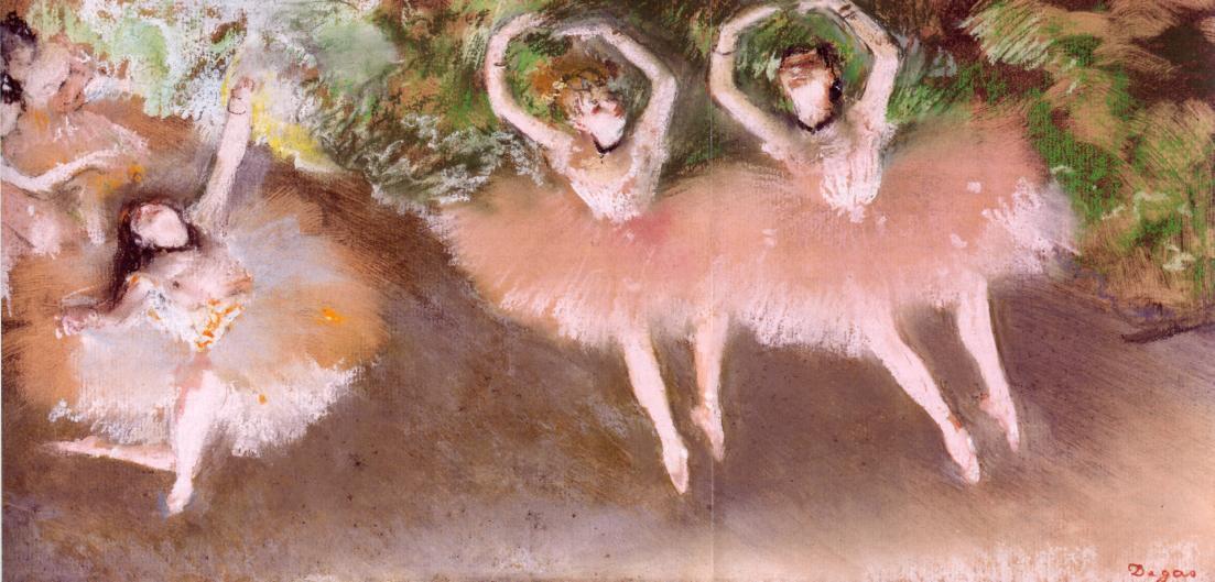 Ballet Scene 1879 | Edgar Degas | Oil Painting