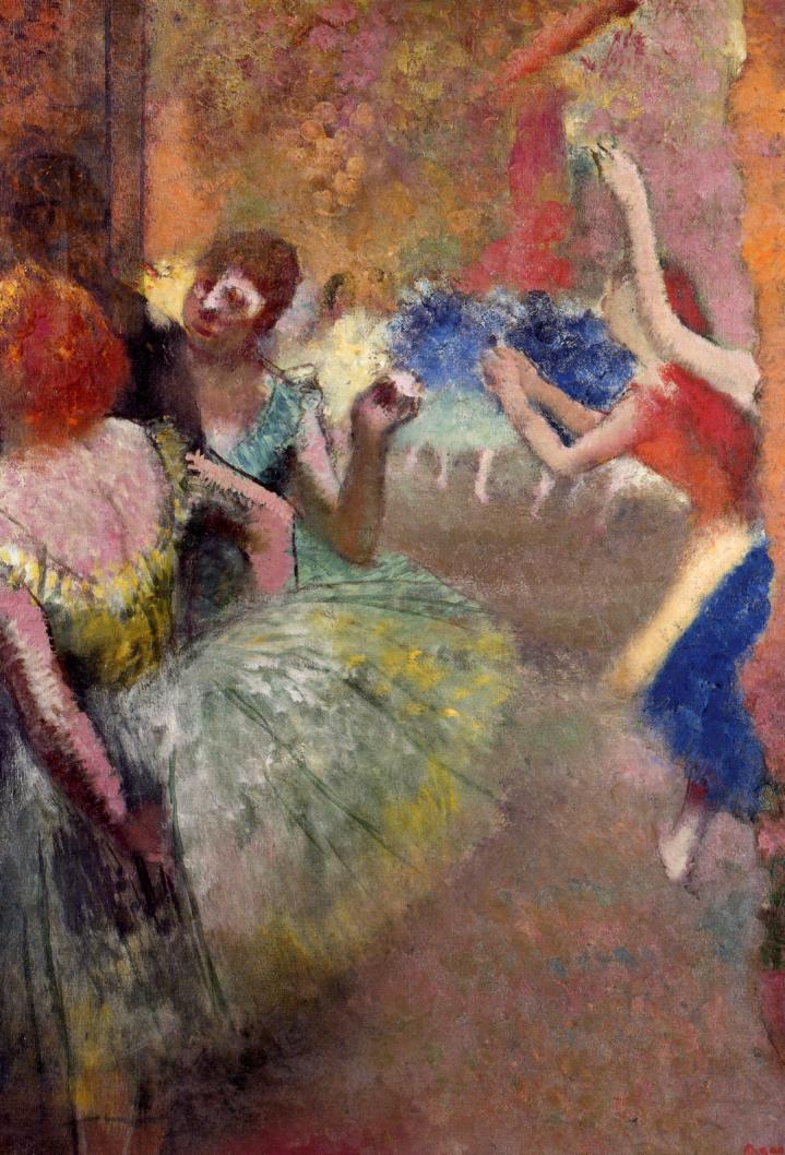 Ballet Scene 1885 | Edgar Degas | Oil Painting
