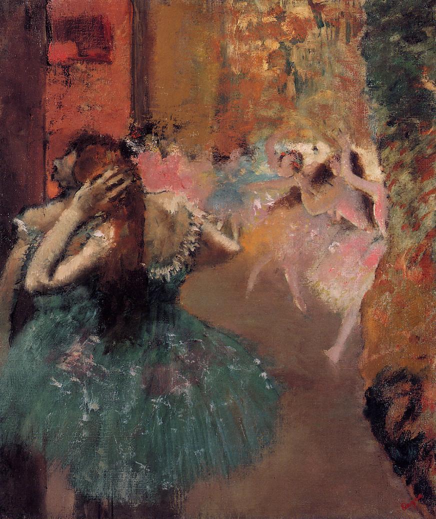 Ballet Scene 1893 | Edgar Degas | Oil Painting