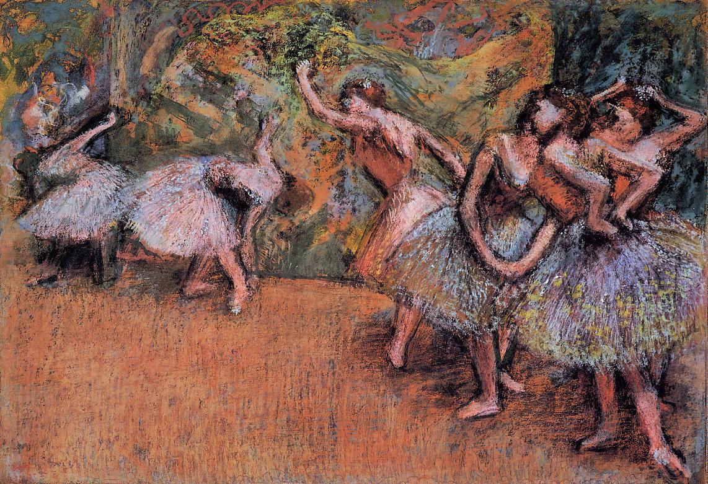 Ballet Scene 1898 | Edgar Degas | Oil Painting