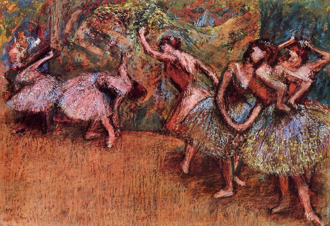 Ballet Scene 1907 | Edgar Degas | Oil Painting