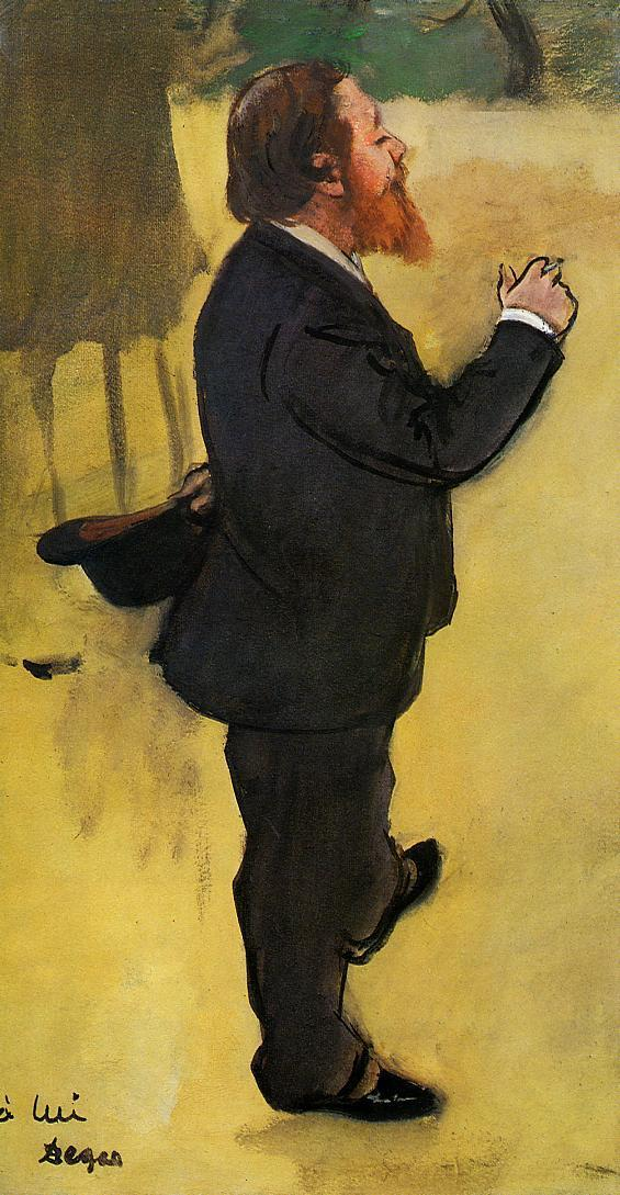 Carlo Pellegrini 1876-1877 | Edgar Degas | Oil Painting