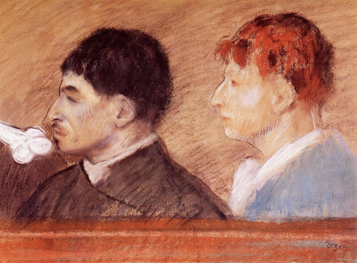 Criminal Physiognomies 1881 | Edgar Degas | Oil Painting