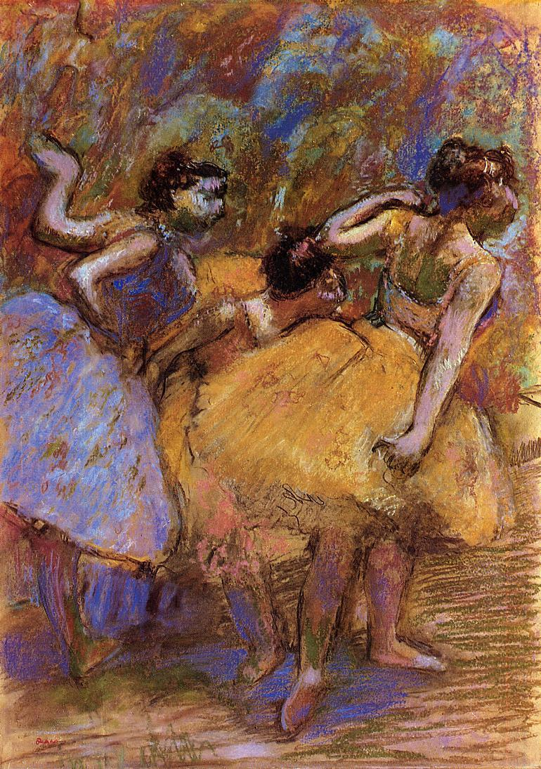 Dancers2 1900 | Edgar Degas | Oil Painting