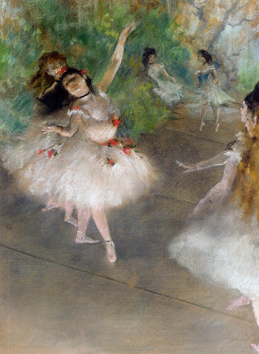 Dancers 1878 | Edgar Degas | Oil Painting
